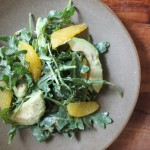 Citrus Salad with Avocado Pistachio and Mint