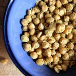 """Cheetos"" Flavored Roasted Chickpeas"
