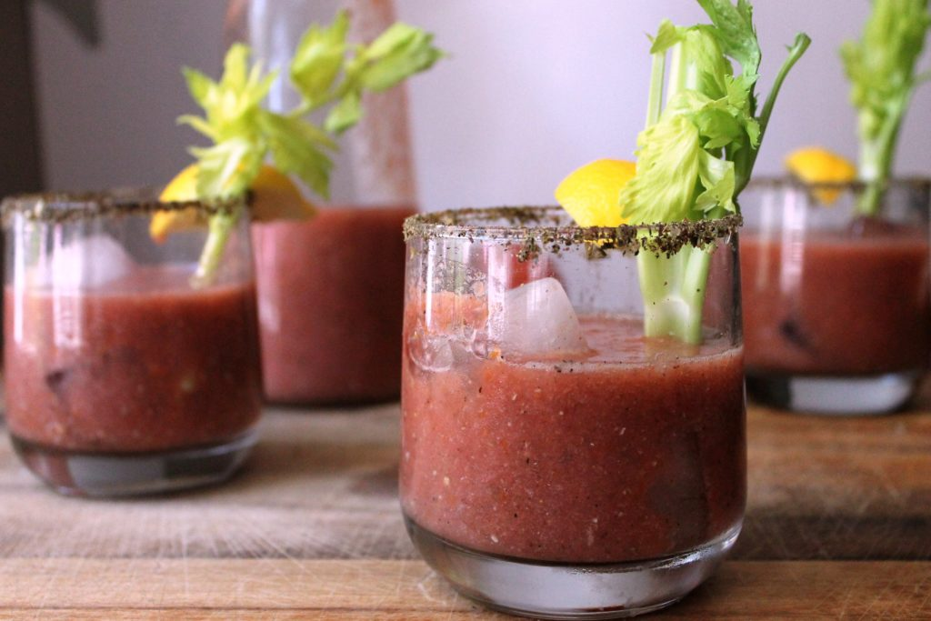 Za'atar Spiced Bloody Marys