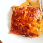 "Butternut Squash and Creamed Spinach ""Lasagna"""